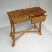 oak-console-drawer