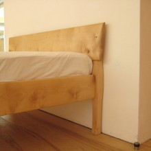 Bespoke Wooden Double Bed