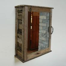 Driftwood Bathroom Cabinet