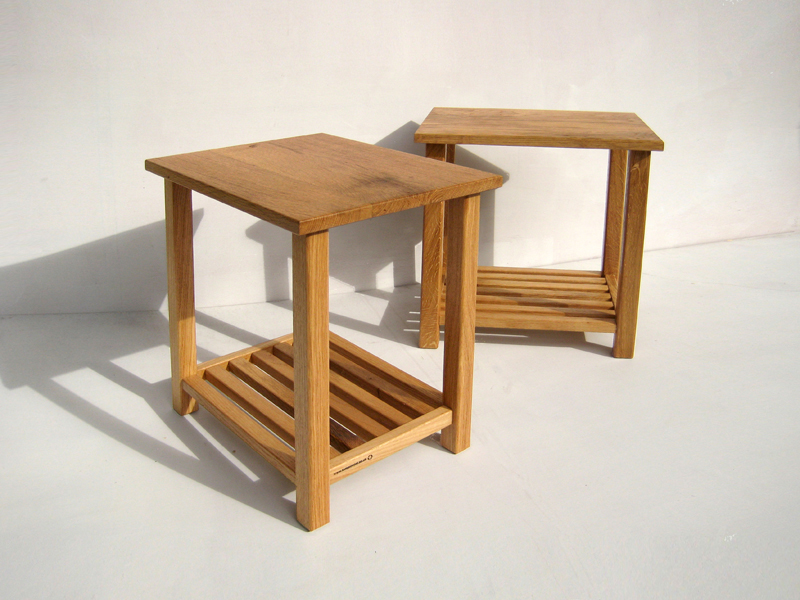 Bespoke Oak Side Tables