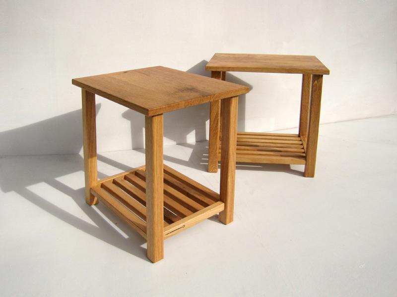 Bespoke Oak Side Tables