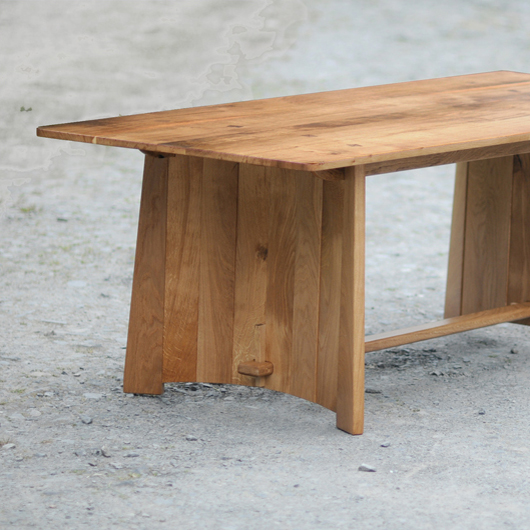 Bespoke Oak 6 Seater Dining Table